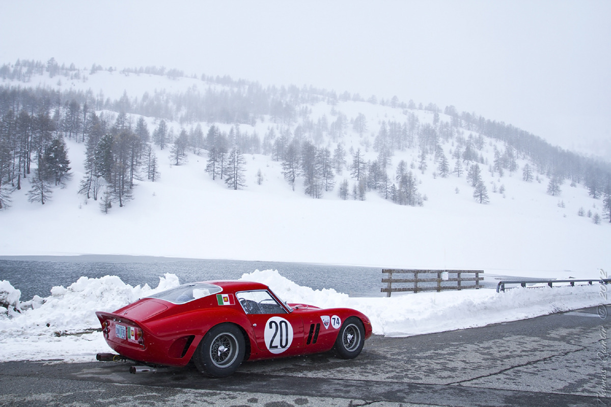 Ferrari 250 GTO at the Louis Vuitton Classic Serenissima Run. Photo by Thomas Quintin.