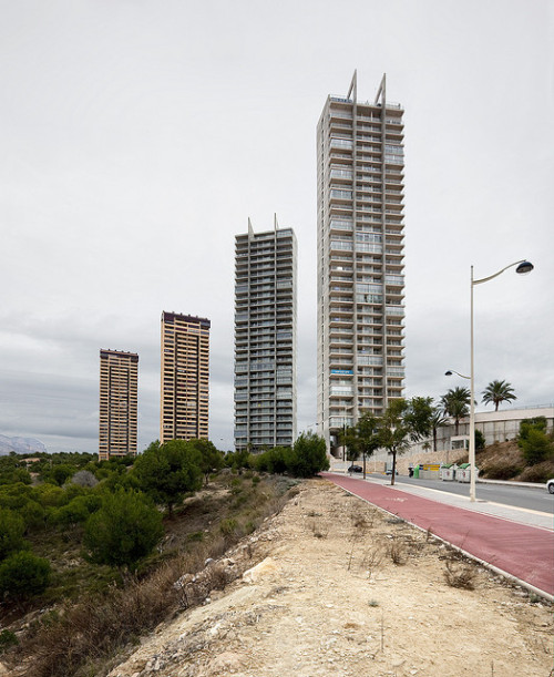 thenewtopographics:  Benidorm #3 (Torres Pinar) by kahape* on Flickr.
