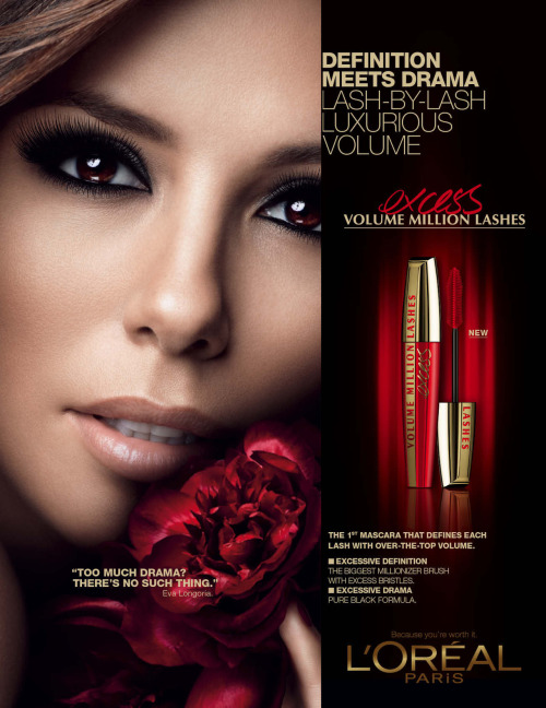 Volume Million Lashes - Eva Longoria (Simple page, Anglais)
