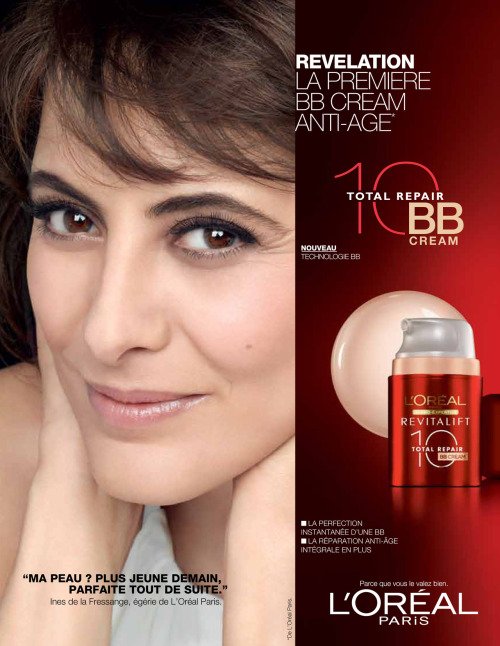 BB Cream - Inès de la Fressange (Simple Page - Français)
