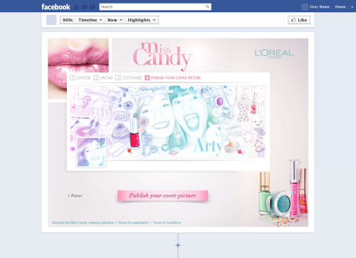 Miss Candy - Application Facebook