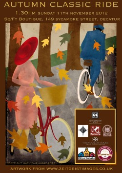 Autumn Classic Tweed & Vintage Ride 11/11 1:30pm from @sqft_decatur to @instantkavarna then @themarlay . JOIN US!