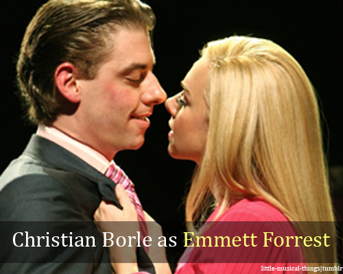 little-musical-things:  Christian Borle as Emmett Forrest