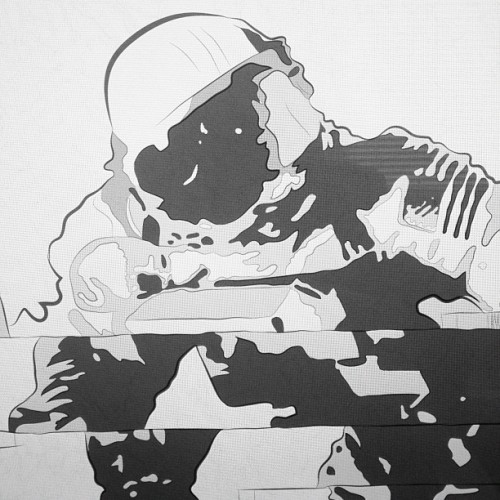 #astronaut #drawing #wacom #nasa #databend