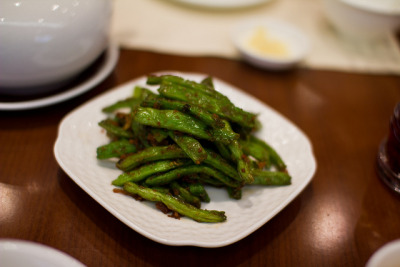 Chinese Stir-Fried Green Beans. by stuckinseoul on Flickr.