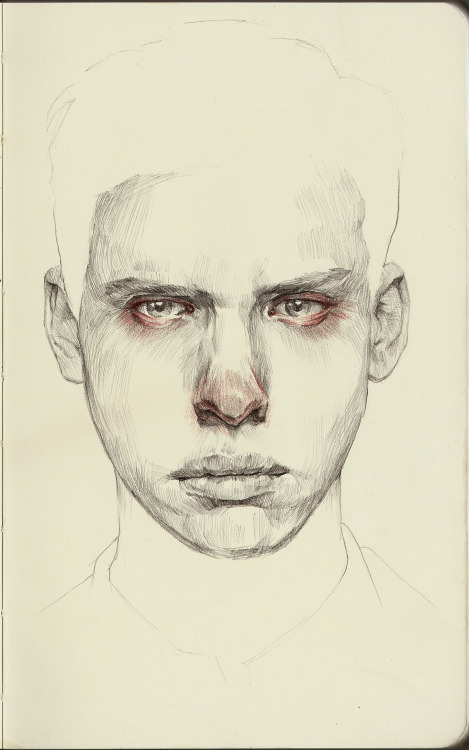 mikecreighton:  Sketch Graphite and Colored Pencil on Paper 07-03-2012