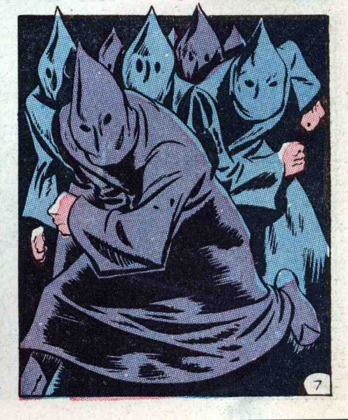 operator99:  The Hooded Gangnam dance troupe.