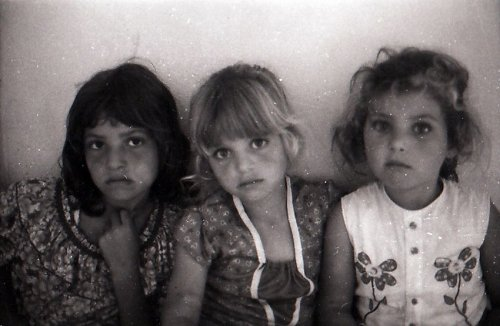Children of refugees from Tal al Zaatar in Damour, Lebanon 1981