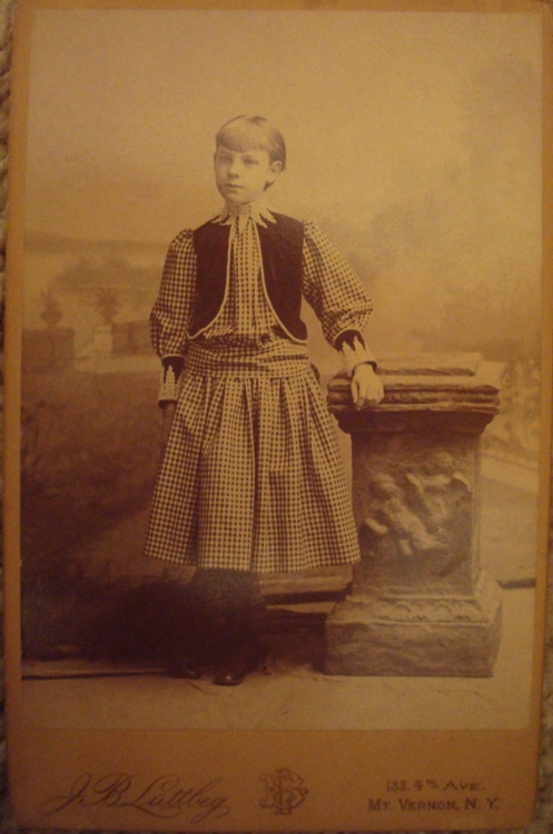 my great grandmother as a girl back in 1885 :) Submitted by emzroz