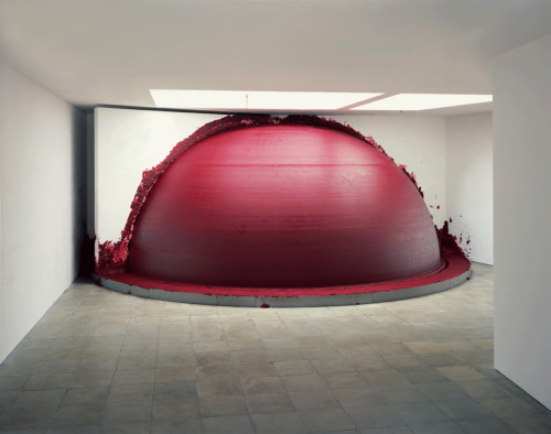"ronulicny:  ""Past, Present, Future"", 2006  By: ANISH KAPOOR…."