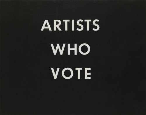 ARTISTS WHO VOTE