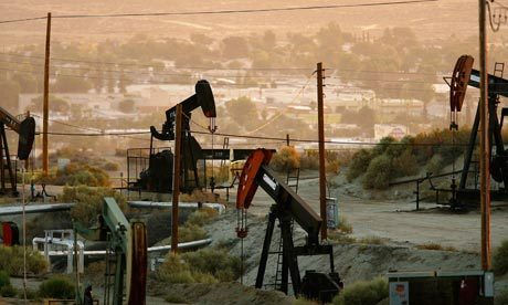 Oil rigs extract crude in Taft, California. Monbiot is correct that there has been a small increase in oil production in the United States in recent years. But can that continue, as he infers? Photograph: David McNew/Getty Images (via Monbiot says he was wrong on peak oil but the crisis is undeniable | Jeremy Leggett | Environment | guardian.co.uk) The many misunderstandings he relays begin with the title. There is more than enough potential oil resource below ground to create the climate disaster he refers to. Peak oil is not about that. It is about when global production falls never again to reach past levels: a disaster, if the descent hits an oil-dependent global economy years ahead of expectations. This descent depends on flow rates in oilfields, not the amount of oil left. What worries those who believe the global oil peak is imminent is the evidence that the oil industry will not be able to maintain growing flow rates for much longer.