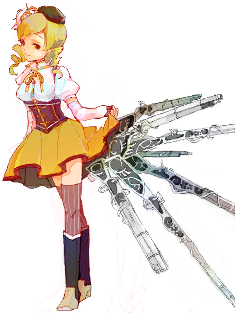 darumakkas:  まみっぱい by   シモーヌ   my name is mami tomoe and I have a killer ass