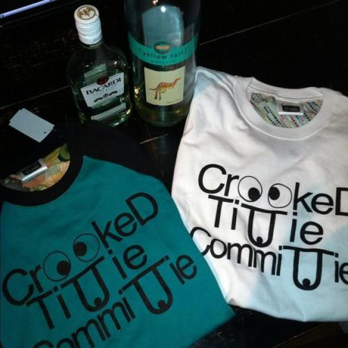 baddiewear:  CROOKED TITTIE COMMITTIE SHIRTS $30
