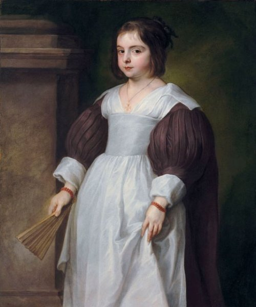 Portrait of a Young Girl by Anthony van Dyck, unknown date (ca 1630's?), private collection