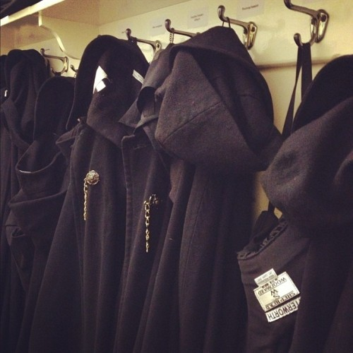 Dementor cloaks hanging in Magdalen College. #Oxford