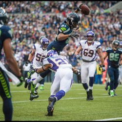 seattleseahawksnfl:  TOUCHDOWN!!!!!! (Photo by Rod Mar/Seattle Seahawks)  At least the Seahawks won 30-20 against the Vikings! Who's Matt Flynn again?