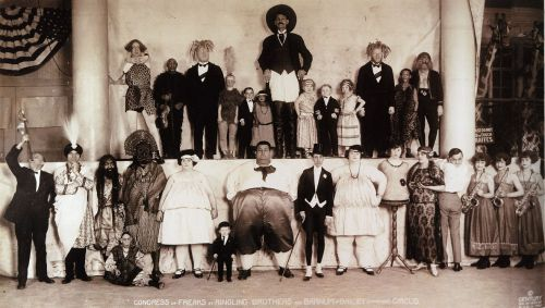 collective-history:  Congress of Freaks - Baileys Circus (1924)