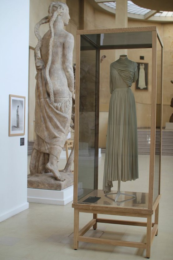 Madame Grès exhibition at the Musée Bourdelle in Paris