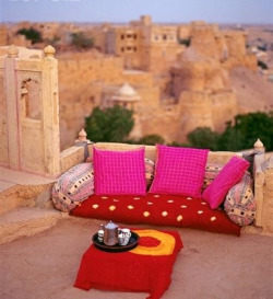 Wanderlust ~ High tea in Pushkar Rajasthan, India