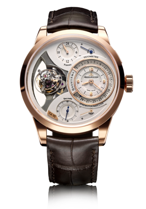 Jaeger LeCoultre Duometre Spherotourbillon The name alone makes you say damn.