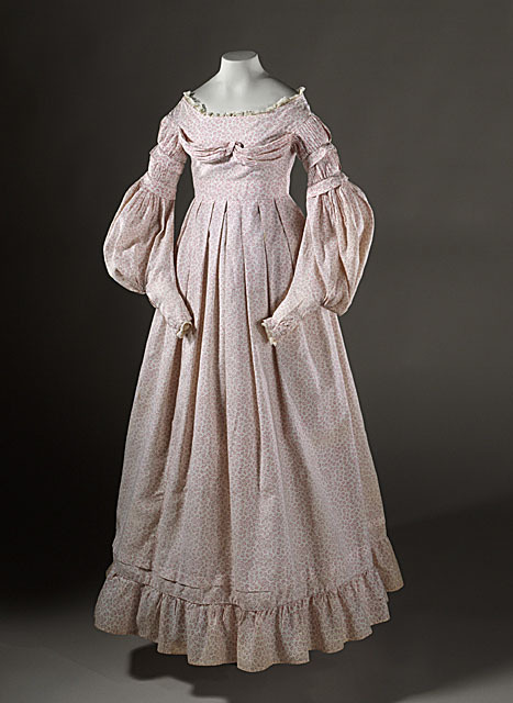 Girl's dress circa 1837. LACMA. Accession Number: AC1999.46.6