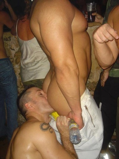 faggland:  Once you've worshiped a stranger's ass in a crowded bar, there's nothing left that can humiliate you as a homo