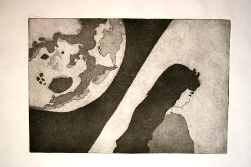 old etching.