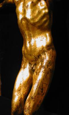 Detail of a Florentine Gilt Corpus from the Circle of Michelangelo, mid 1500's.
