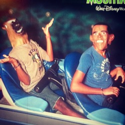 jarsmito:  That one time Obama and a horse rode Space Mountain.