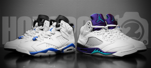 "hotspot472:  ""Purple Sport"" 91 Sport Blues VI's x 06 Grape V's. -Hotspot472-"
