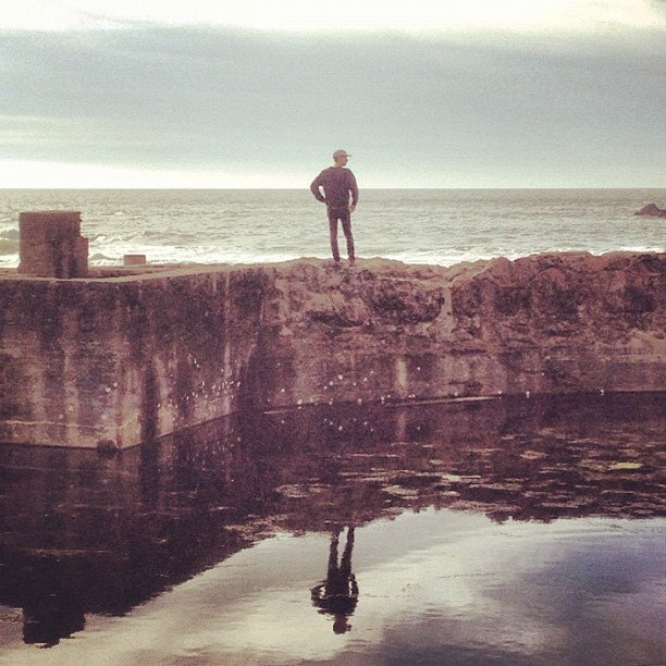 at Sutro Baths Ruins