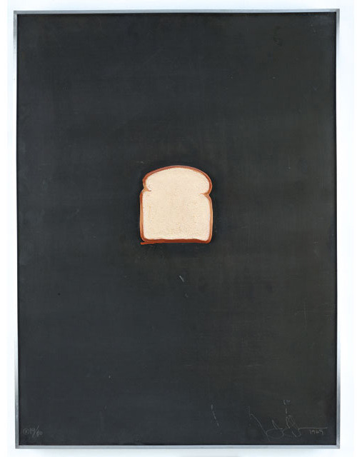 Jasper Johns, Bread, 1969