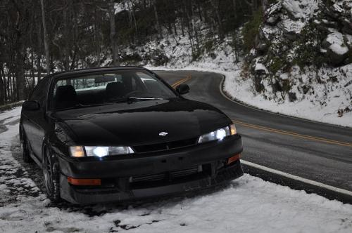 all-dark-graves:  Nissan 240sx S14 Kouki