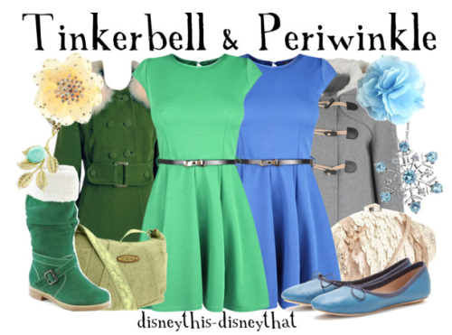 disneythis-disneythat:  Tinkerbell and Periwinkle