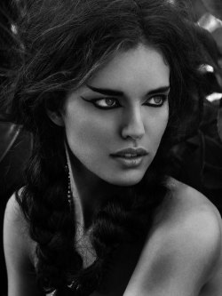 "classicmodels:   Emily DiDonato by Gianluca Santoro in ""Savage Beauty"" for Fashion Gone Rogue"
