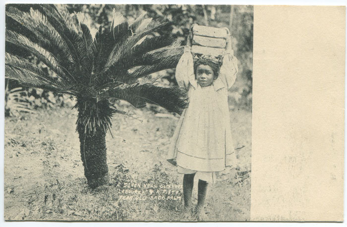 A Seven Year Old Free Labourer (Circa 1902)  ( via )