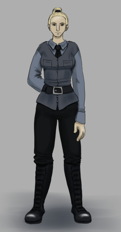 Designed a uniform for one of my characters for NaNoWriMo.