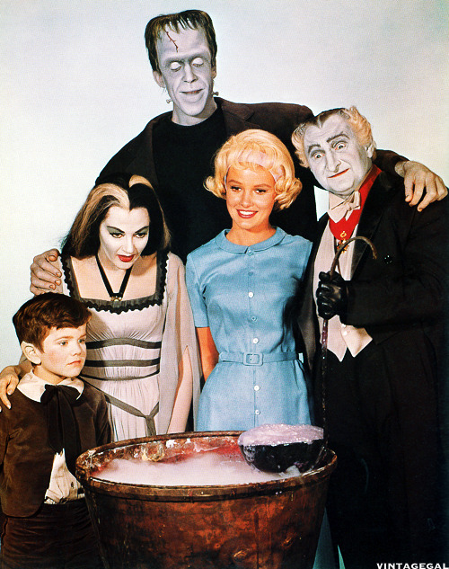 The Munsters Cast, 1964