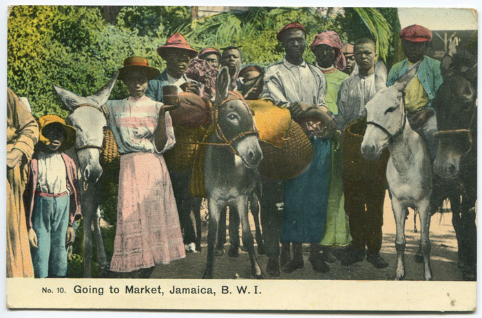 Going to Market (Circa 1910) ( via )
