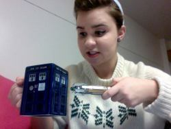 """Sweetie, I shrunk the TARDIS!"" Follow me c: I follow back. ALWAYS"