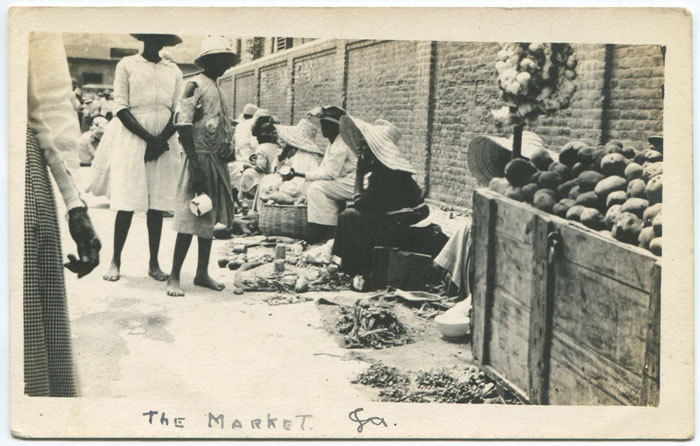 The Market (Circa 1920) ( via )