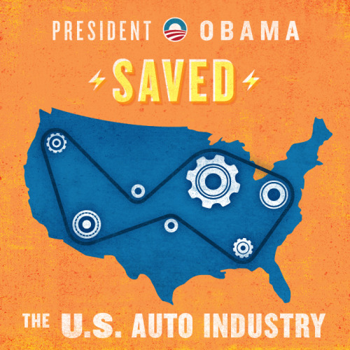 "President Obama: ""I knew betting on American workers was the right thing to do."""