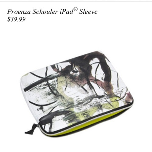 All I want for Christmas is this !!! @proenzaschouler for #target #ipad #sleeve #ps1 #ps11 #proenzaschouler #lux4less #wishlist #christmas #shopping #lotd #fashion #style