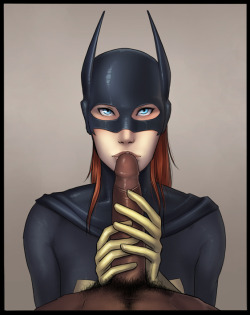 Barbara Gordon found a big black cock. Forgot about that issue