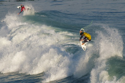 Kerzy vs. Bourez. One wave | Two airs | O'Neill Coldwater Classic 2012