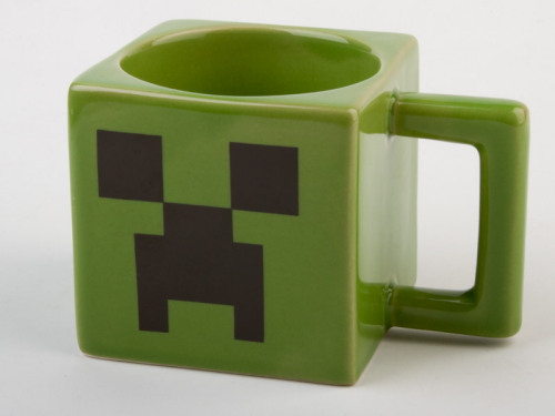 heckyeahmugs:  Minecraft Creeper Face Mug