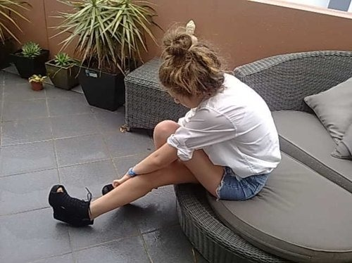Amazing,Bun,Fashion,Girl,Jade,Pretty,Shoes,Wow,Shorts,