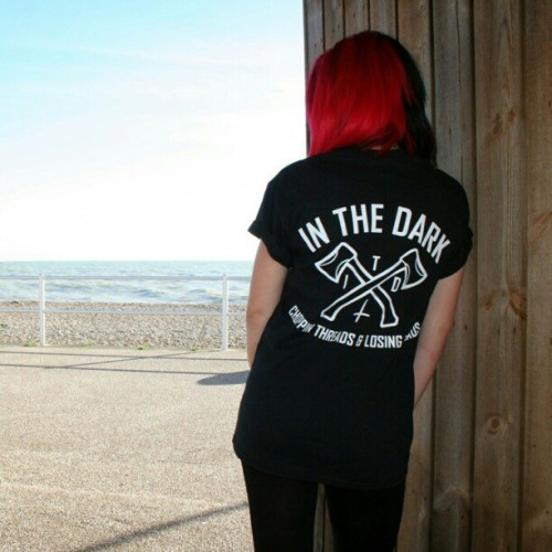 Crossed axes unisex tshirt. Available in black or white at www.inthedarkclothing.co.uk  #inthedarkclothing #inthedark #itd #instagram #streetwear #street #wear #skate #skateboard #bmx #bmxuk #motox #surf #mtb #tshirt #tshirts #tattoo #tattoos #crossedaxes #london #brighton #clothing #fashion