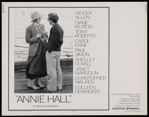 "Annie Hall (1977) Pros: This is almost certainly (with some serious competition from the likes of 'Manhattan', 'Crimes and Misdemeanors', 'Midnight In Paris' and 'Hannah and Her Sisters') Allen's best film, and of course his most successful in terms of Oscar recognition. Almost anyone who wants to point to a specific film of Allen's and identify what typifies his general style will use 'Annie Hall' as the archetype. Obviously part-autobiographical, both for Woody and for Diane Keaton, the narrative for 'Annie Hall' is almost perfect, with no missteps. Allen takes on his usual targets (love, death, sex, New York, the creative process, loss, family, television, Jewishness etc) and hits each one with humour and also (surprisingly) with some tenderness. It would be impossible to find best moments or highlights from Annie Hall…it is that good. The supporting cast has some wonderful cameos, ranging from Tony Roberts through the likes of Shelley Duval as a date for Woody's Alvy Singer, Marshal McLuhan, Paul Simon, Colleen Dewhurst, a hilariously weird American Gothic-like Christopher Walken and Jeff Goldblum. These actors neither disappear underneath nor overshadow the leads of Diane Keaton and Woody Allen, instead providing added colour and vigour to many a scene. The critic Peter Bradshaw says of 'Annie Hall' ""this wonderfully funny, unbearably sad film is a miracle of comic writing and inspired film-making"". There is no better summary of one of the all time great films from the US, from the seventies, in the romantic comedy genre and just as a movie full stop. Cons: In the interests of objectivity I wish I could find flaws with 'Annie Hall' (perhaps Allen's acting which is always problematic at best when playing a romantic lead). However in all honesty it is far beyond my capabilities as an amateur critic to have a go at what is Woody's greatest film achievement. Final Rating  5 out of 5 Bill Collins"